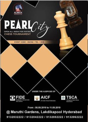 Pearl City Open All India FIDE Rating Chess Tournament